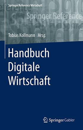 Cover Handbuch Digitale Wirtschaft